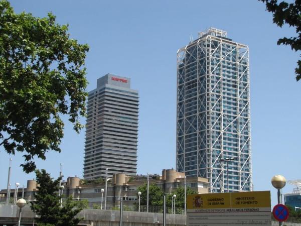 Mapfre и Arts Barcelona олимпийская деревня