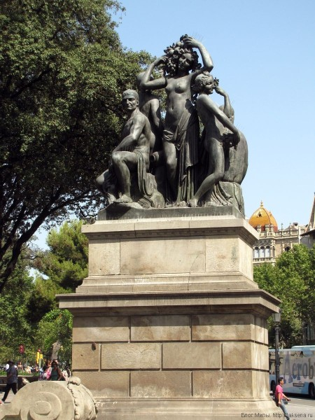 площадь каталонии в барселоне Таррагона