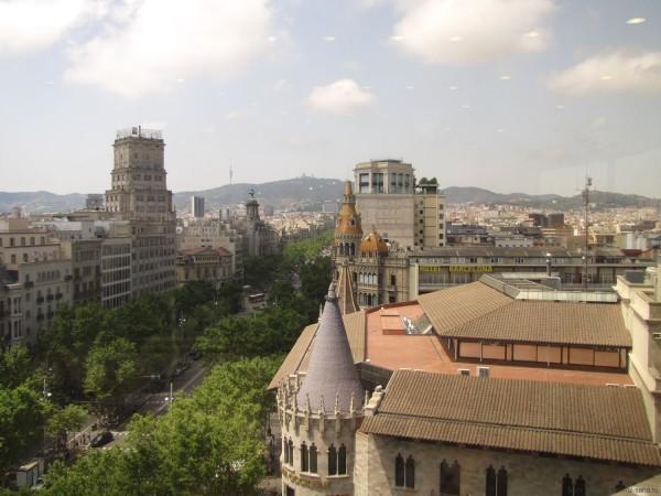 площадь Каталонии в барселоне, пассей де грасия