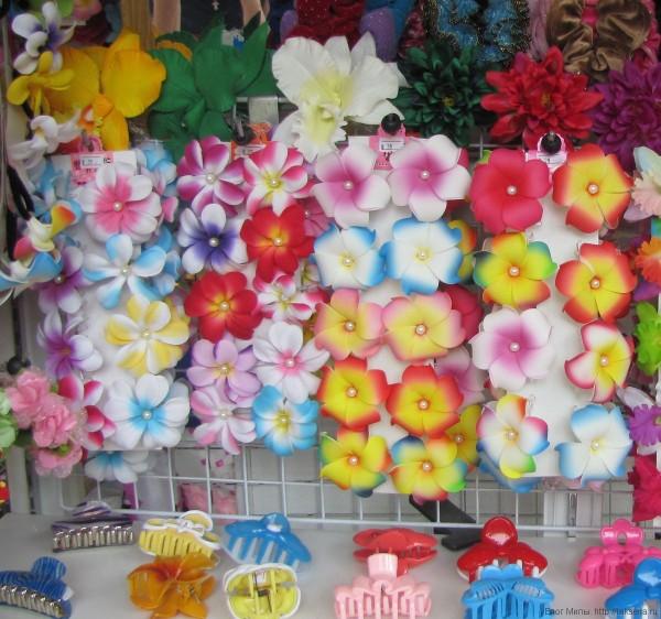 плюмеия в таиланде лилавади заколки с плюмерией