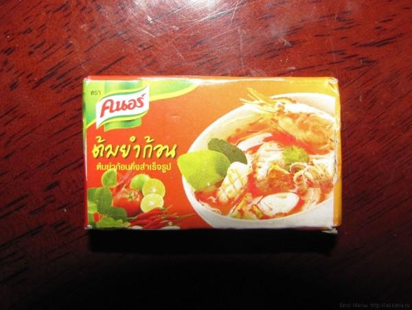 тайская еда в коробочках кнорр том ям