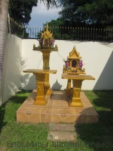 домики духов в таиланде