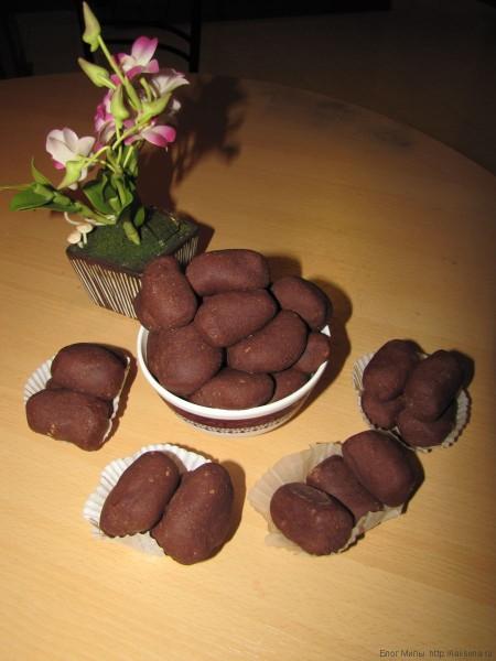 пирожное картошка из печенья в таиланде
