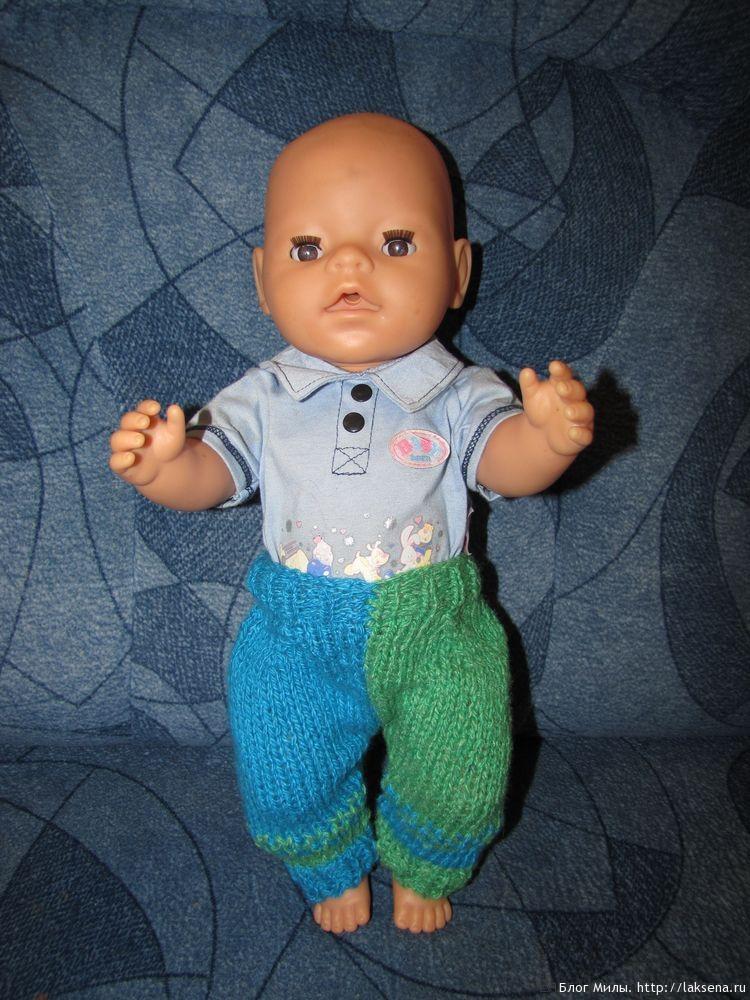 вязаная одежда для беби бона вязаные штаны вязаная одежда для кукол