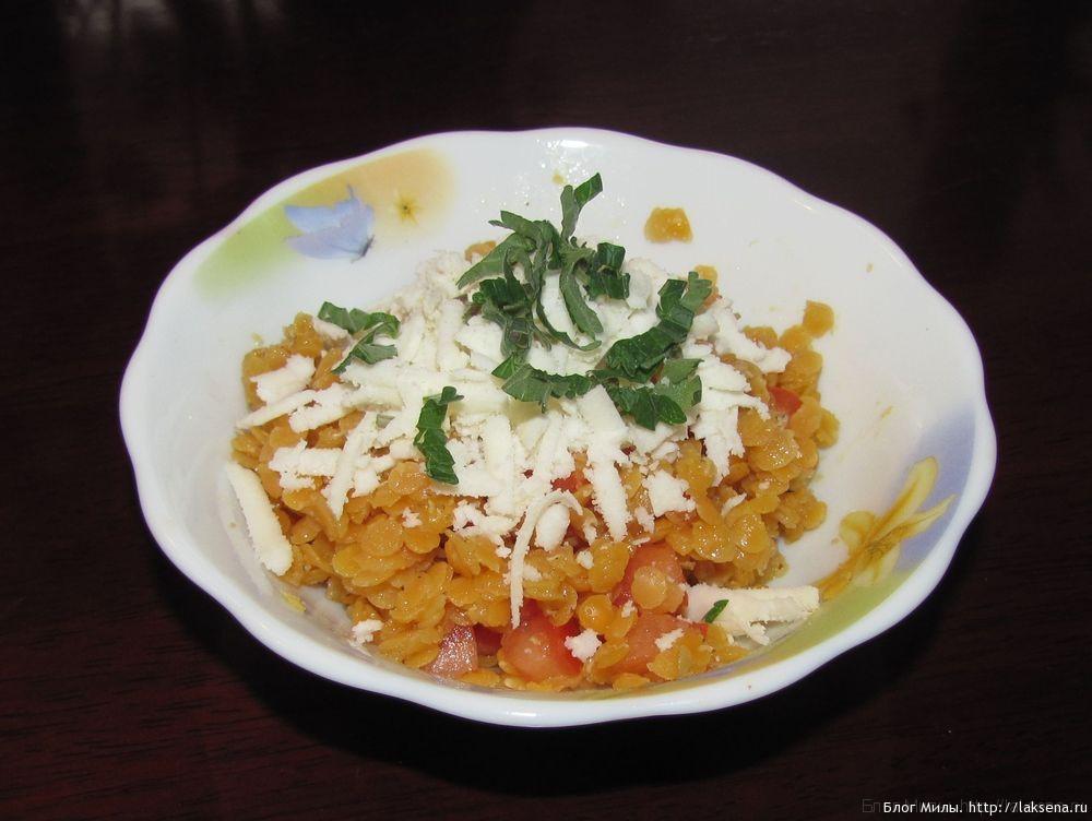 салат из чечевицы с сыром гарнир из чечевицы салат из чечевицы с козьим сыром