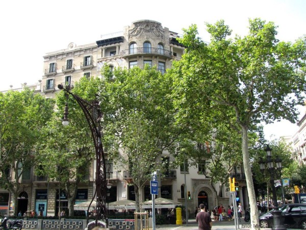 Union des Assurances de Paris passeig de gracia эшампле