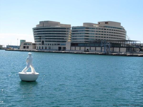 набережная барселоны порт барселоны международный торговый центр барселона