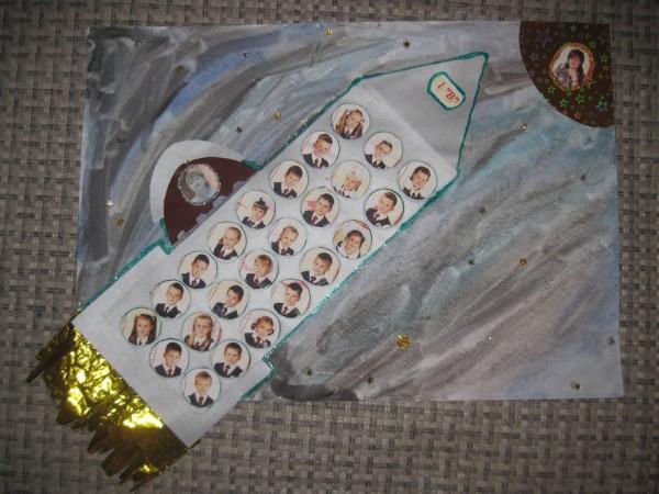 поделка на день космонавтики плакат на день космонавтики