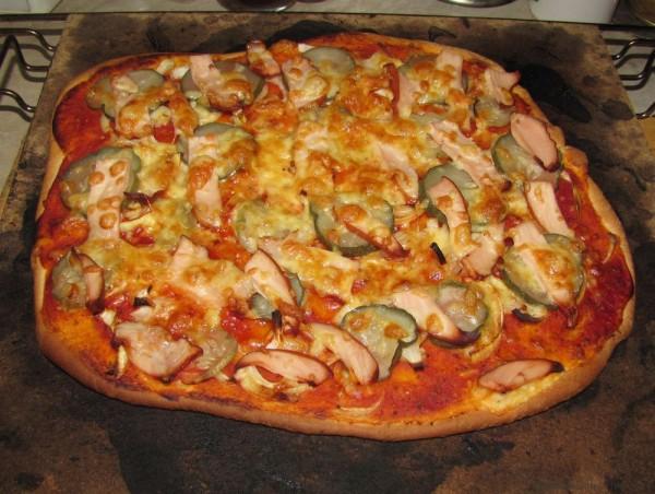 Быстрое тесто для пиццы дрожжевое