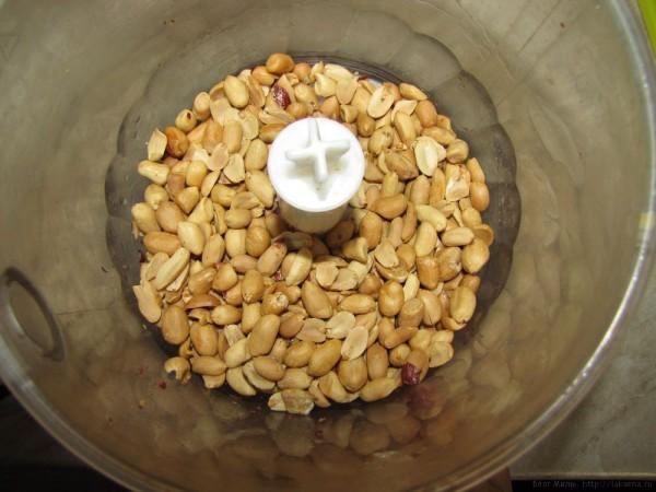арахисовое масло своими руками