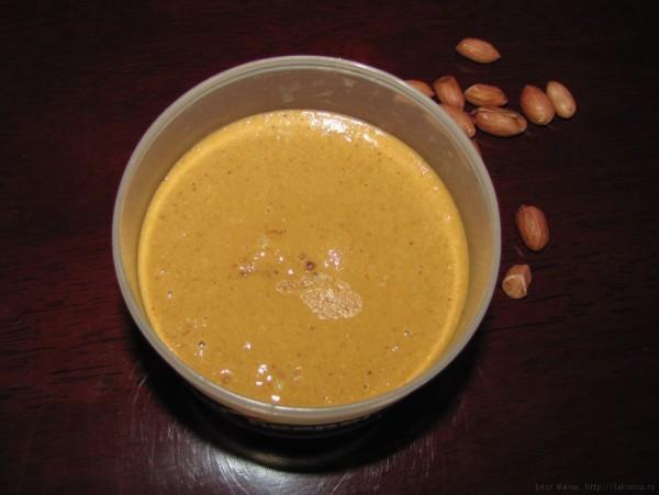 арахисовое масло своими руками арахисовая паста своими руками