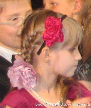 1 класс прически на выпускной фото две французские косы с ободком прическа с челкой