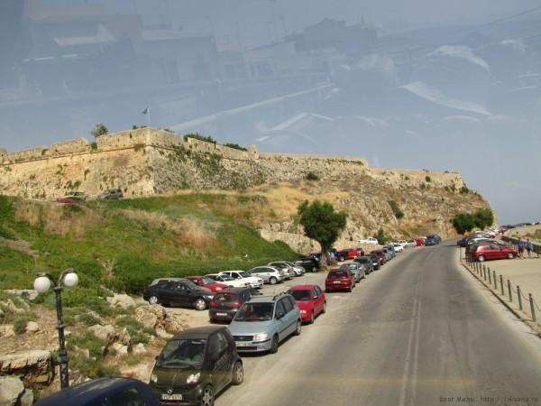 крепость Fortezza Rethymno city tour
