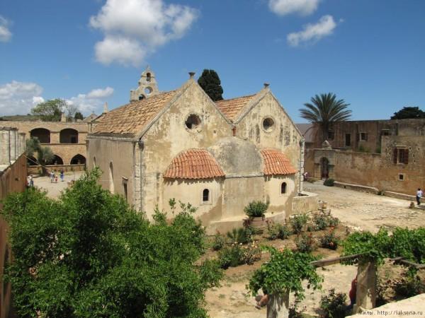 католикон монастырь аркади