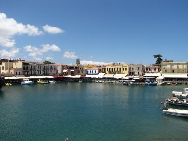 ретимно старый город венецианская гавань