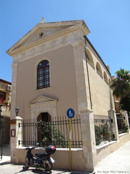 ретимно старый город католическая церковь