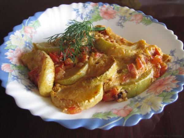 Запеканка из кабачков - критская кухня рецепты