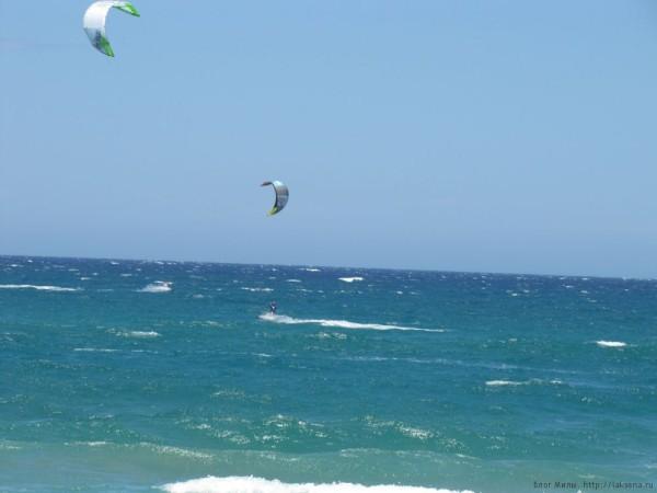 пляж ретимно кайтинг