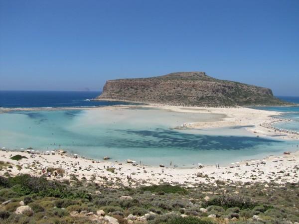 Экскурсия Грамвуса бухта Балос лагуна
