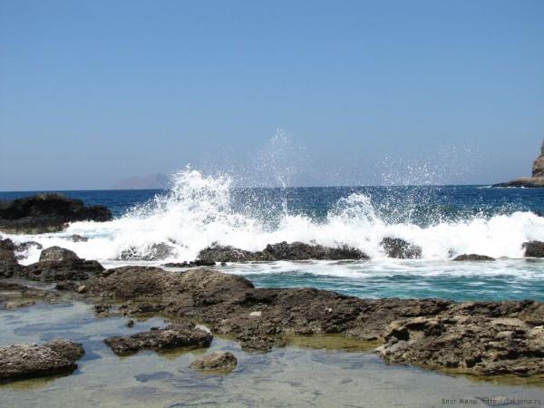Экскурсия Грамвуса бухта Балос ливийское море