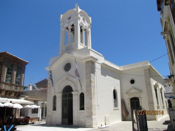 ретимно старый город церковь богоматери ангелов микри панагия