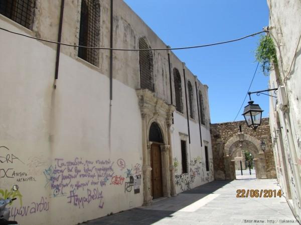 ретимно старый город церковь святого франциска