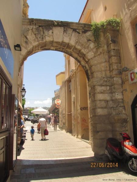 ретимно старый город ворота гора ворота гуора