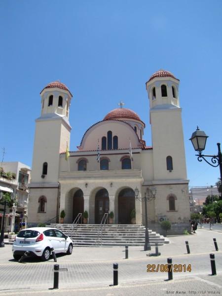od. ethnikis antistaseos церковь четырех мучеников
