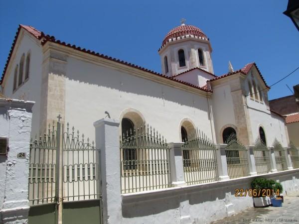 ретимно старый город церковь святой варвары