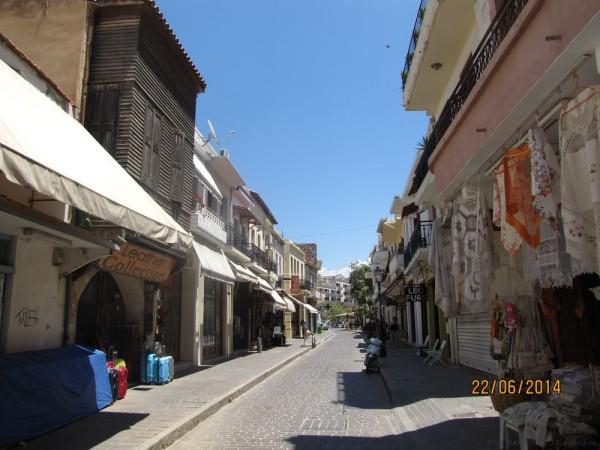 ретимно старый город улица Аркадиу