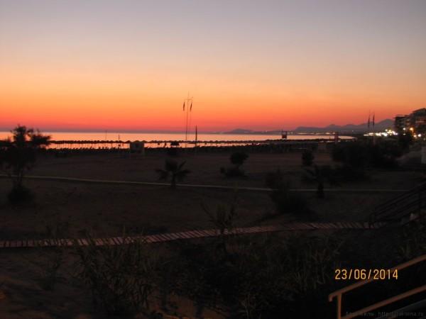 ретимно пляж рассвет
