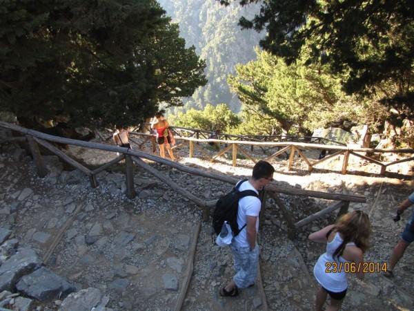 экскурсия в самарийское ущелье спуск
