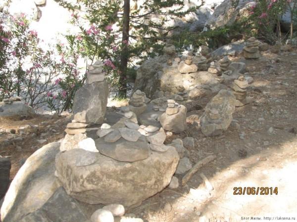 экскурсия в самарийское ущелье каменные пирамидки