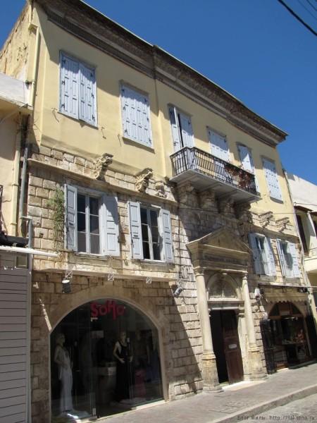 ретимно старый город дом драндакиса