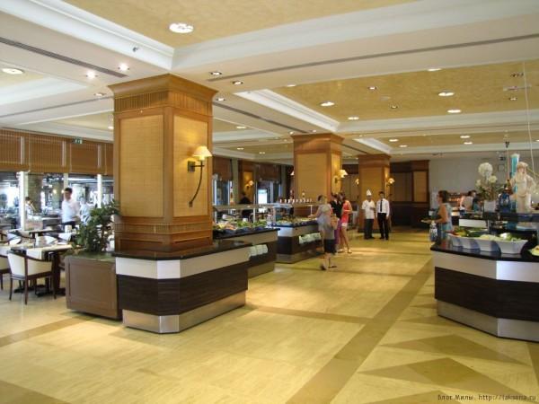 Grand Yazici Mares 5* зал ресторана