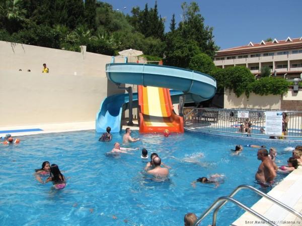 Grand Yazici Mares 5* аквапарк