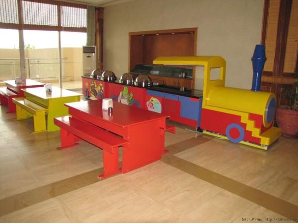 Grand Yazici Mares 5* детский стол