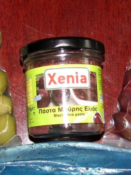 оливковые сувениры с крита паста из оливок