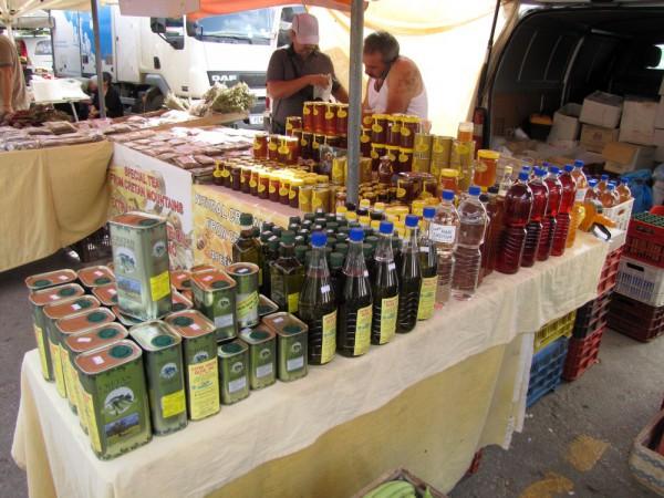 Оливковые сувениры с Крита