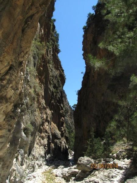 экскурсия в самарийское ущелье железные ворота