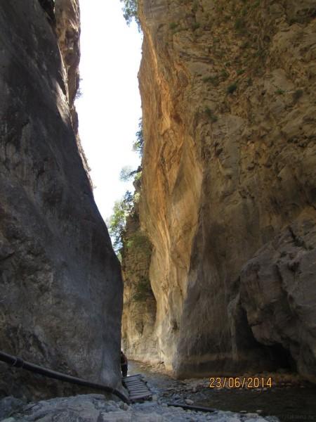 экскурсия в самарийское ущелье железные ворота портес