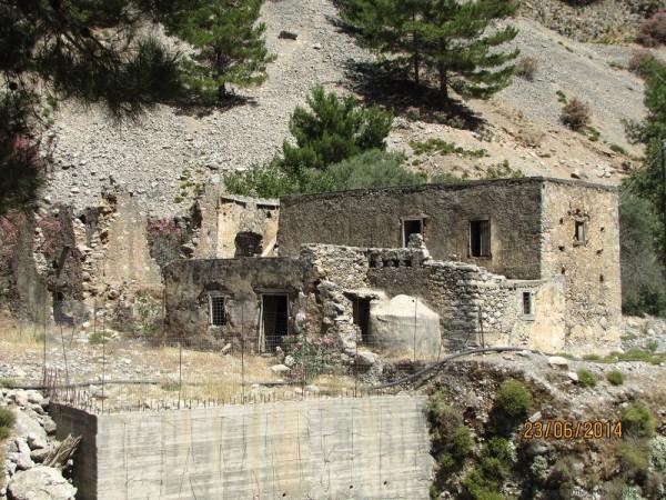 экскурсия в самарийское ущелье развалины агия румели