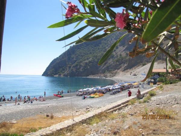 экскурсия в самарийское ущелье пляж агиа румели