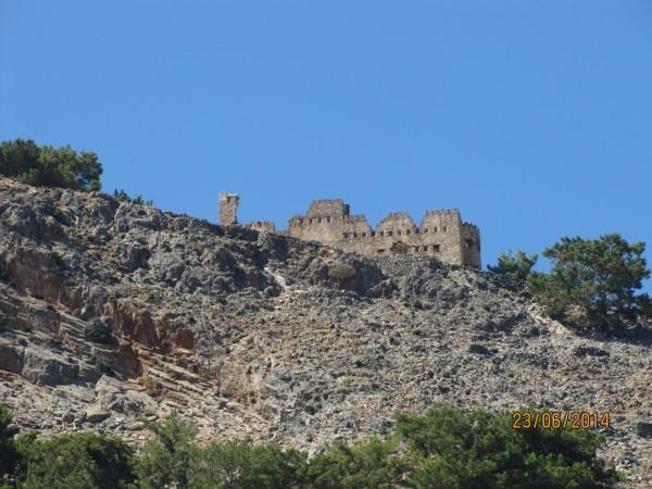 экскурсия в самарийское ущелье развалины замка в агиа румели