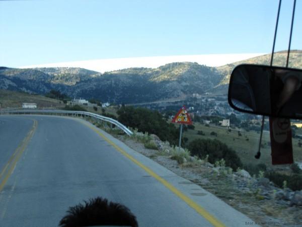 экскурсия в самарийское ущелье