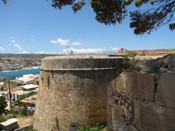 Венецианская крепость Фортецца Ретимно бастион святого ильи