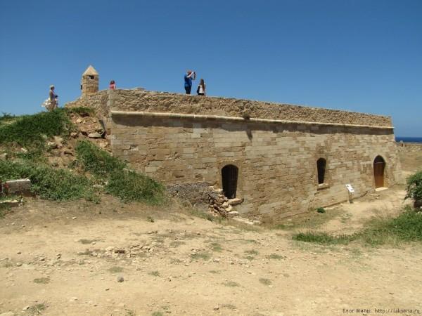 Венецианская крепость Фортецца Ретимно бастион святого луки