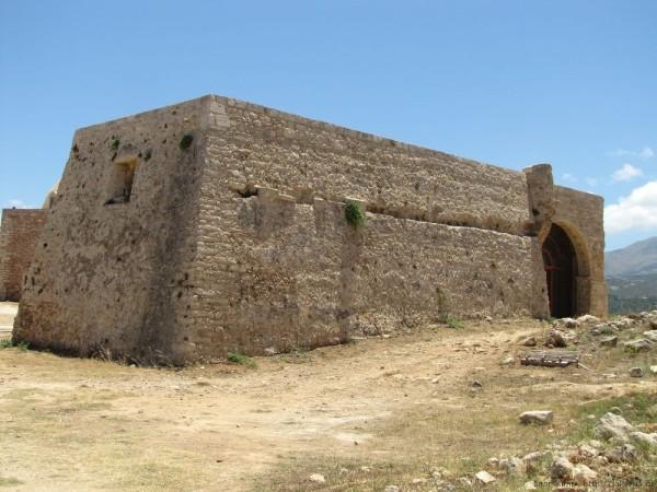 Венецианская крепость Фортецца Ретимно дом правителя