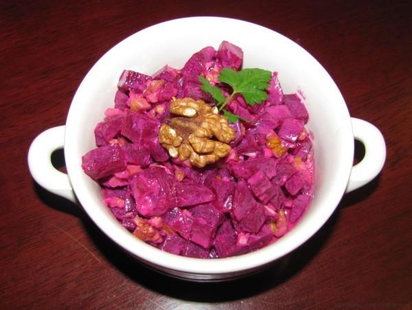Свекольный салат, критская кухня