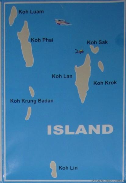 отдых на острове ко лан острова в паттайскй бухте